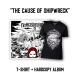 Blackbriar - The Cause of Shipwreck [T-Shirt + Hardcopy Album]