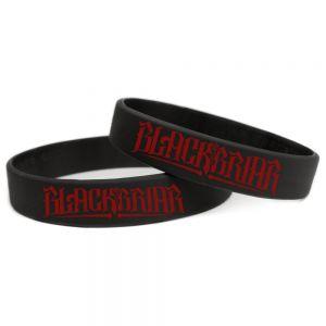 Sillicone wristband [red logo]