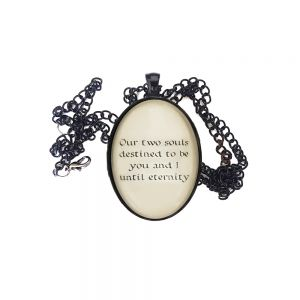 Our two sould destined to be you and i until eternity - Handmade necklace Blackbriar - Until Eternity.